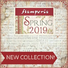 Stamperia Spring Collection 2019