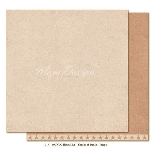 Χαρτί Scrapbooking Maja Collection, Monochrome - Shades of Denim / Beige, διπλής όψης