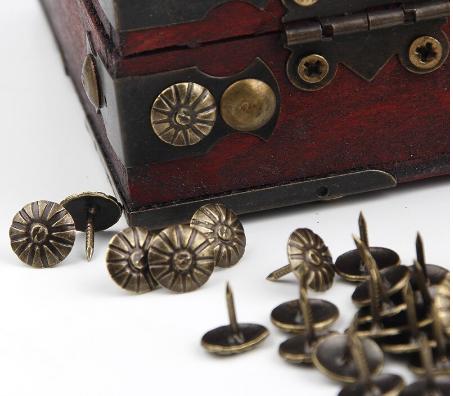 Καρφιά μεταλλικά Bronze 10mm - σετ 20 τεμ
