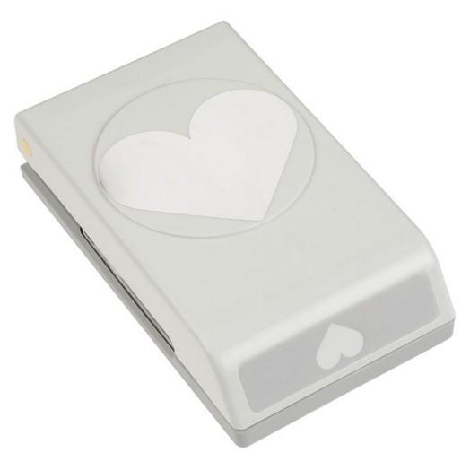 Κοπτικό χαρτιού, Large Punch Heart, 6x5cm