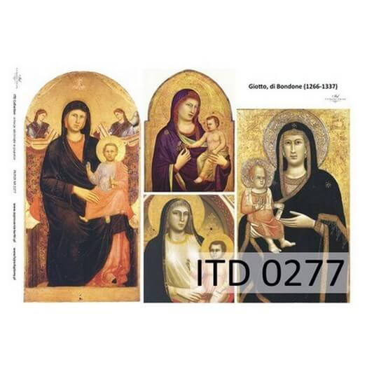 Χαρτί ITD για Decoupage 30x42 cm, 60gr