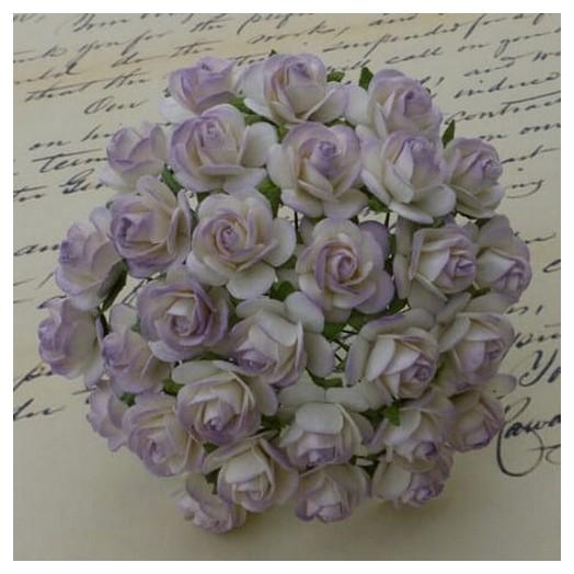Λουλούδια 2 χρωματικοί τόνοι  PALE LILAC, 20mm