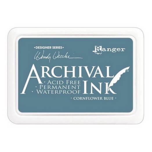 Ανεξίτηλο μελάνι Archival Ink Pad - Cornflower Blue