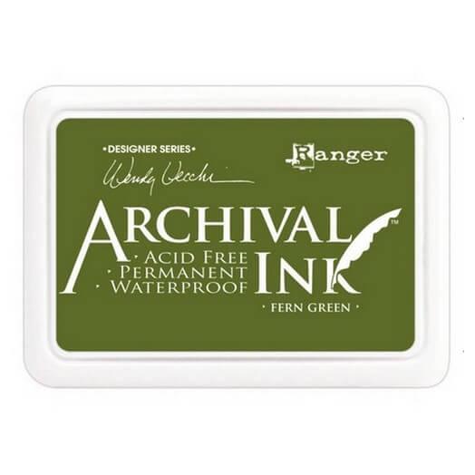 Ανεξίτηλο μελάνι Archival Ink Pad - Fern Green