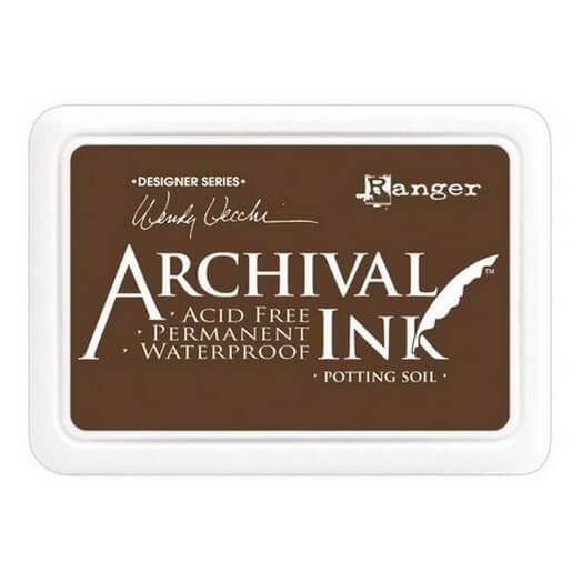 Ανεξίτηλο μελάνι Archival Ink Pad - Potting Soil