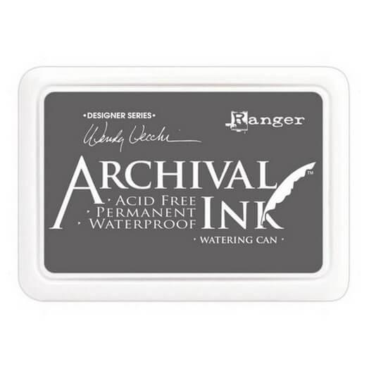 Ανεξίτηλο μελάνι Archival Ink Pad - Watering Can