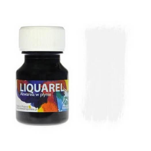 Χρωμα ακουαρέλας Liquarel 30 ml - White