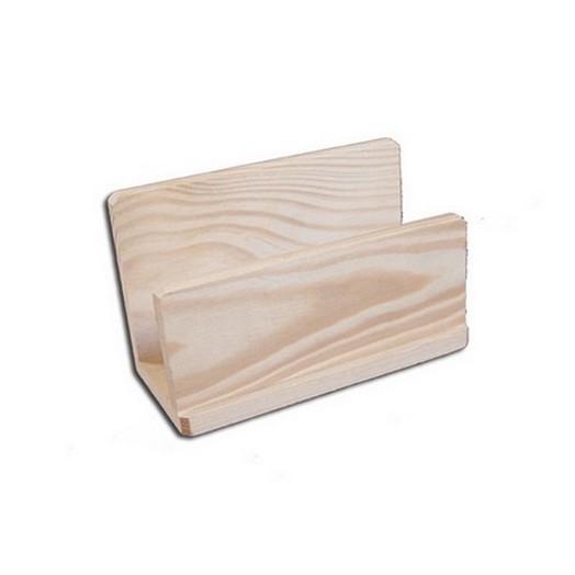 Πετσετοθήκη ξύλινη 150x70x70mm