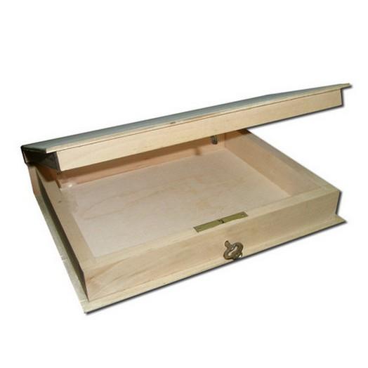 """Κουτί """"Ατζέντα"""" με κλειδί 178 x 210 x 45 mm"""