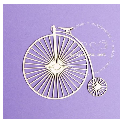 Διακοσμητικά Chipboard ποδήλατο,10cm