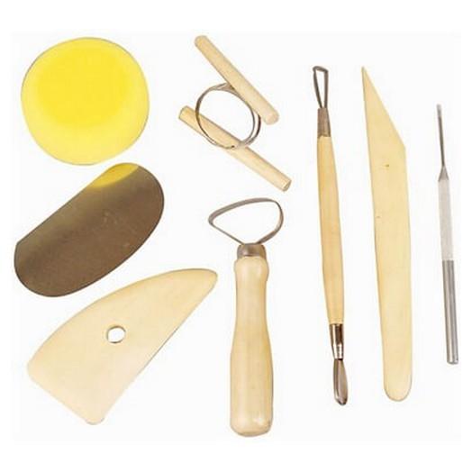 Εργαλεία αγγειοπλαστικής - σετ 8τεμ