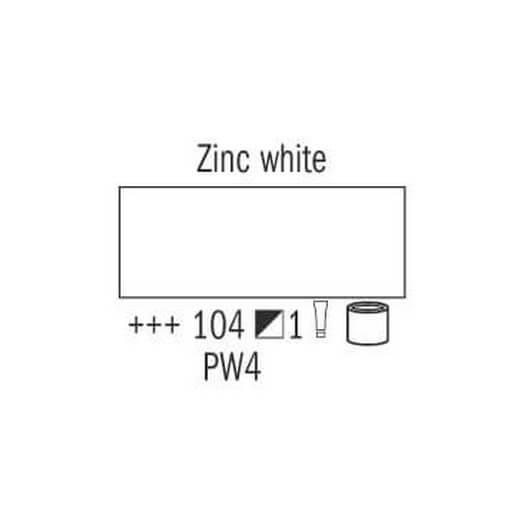 Λάδι Van Gogh Talens 20ml, Zinc White