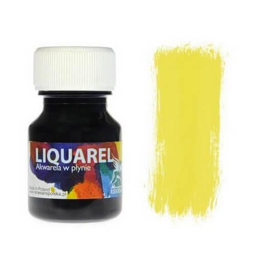 Χρωμα ακουαρέλας Liquarel 30 ml - Lemon Yellow