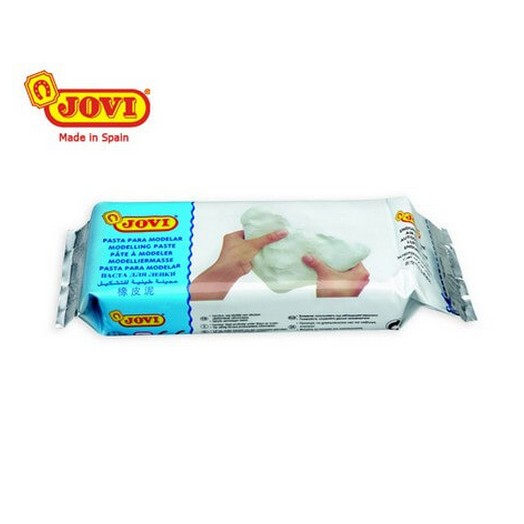 Πηλός μοντελοποίησης 500gr Λευκός Jovi