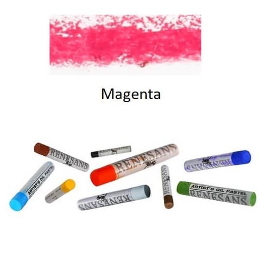 Λαδοπαστέλ oil pastel fine Renesans - Magenta