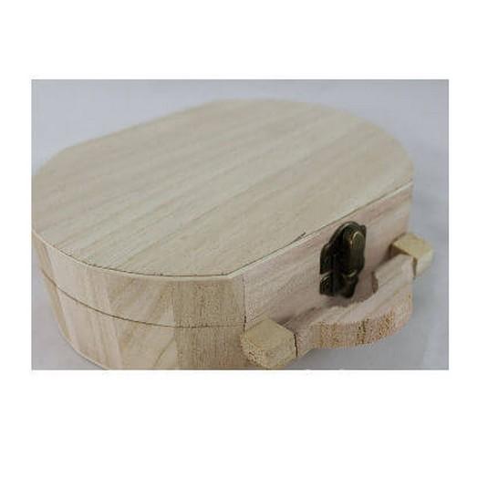 Ξύλινο Βαλιτσάκι 18x5xh14x5cm