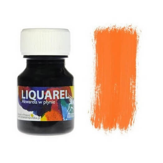 Χρωμα ακουαρέλας Liquarel 30 ml - Orange