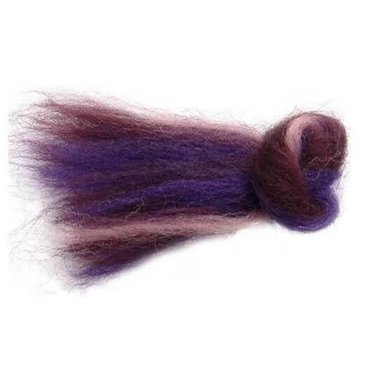 ΦΕΛΤ ΜΕΡΙΝΟ Multicolor - rose-purple-dark-purple