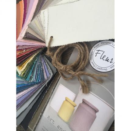Χρώμα Fleur Chalky Look 130ml, Titanium White