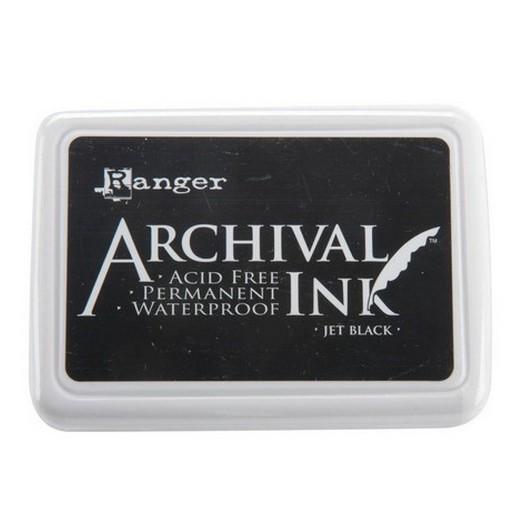 Ανεξίτηλο μελάνι Archival Ink Pad - Jet Black