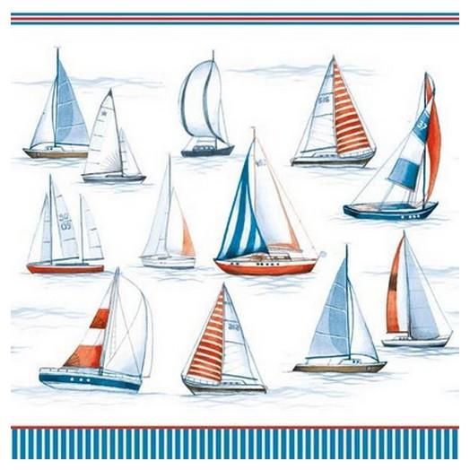 Χαρτοπετσέτα για Decoupage Sailing , 1τεμ