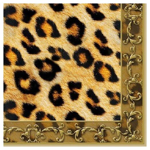 Χαρτοπετσέτα για Decoupage Leopard Ornament, 1τεμ.