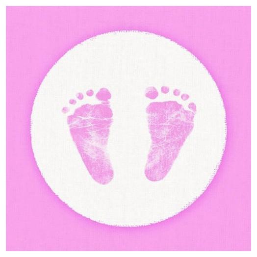 Χαρτοπετσέτα για Decoupage Baby Steps Girl, 1 τεμ