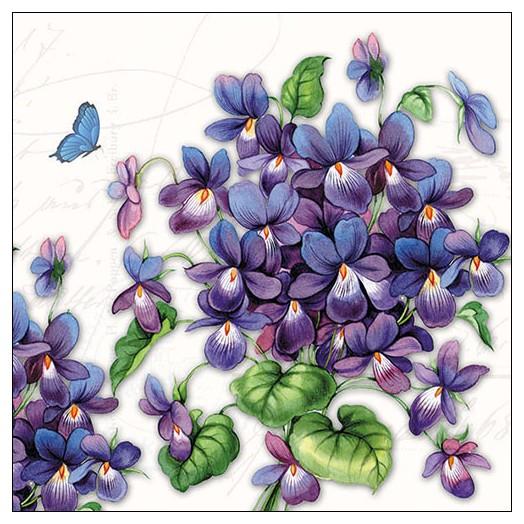 Χαρτοπετσέτα για Decoupage,  Viola 1 τεμ