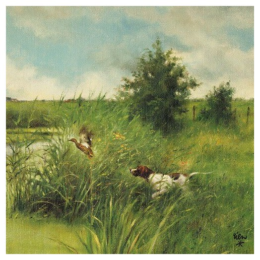 Χαρτοπετσέτα για Decoupage, Dogs Hunt Ducks, 1 τεμ