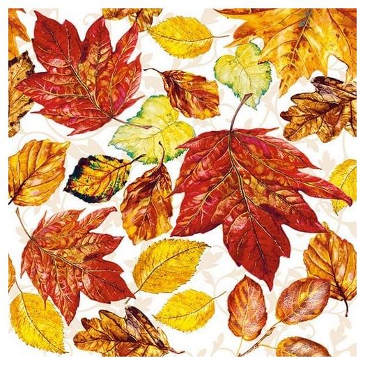Χαρτοπετσέτα για Decoupage, Leaves, 1 τεμ