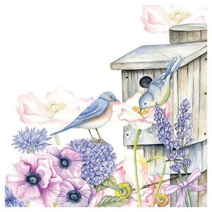 Χαρτοπετσέτα για Decoupage, Birdhouse Backyard 1 τεμ