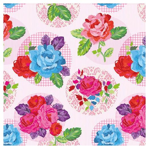 Χαρτοπετσέτα για Decoupage, Modern Rose Pink 1 τεμ
