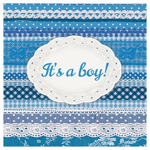 Χαρτοπετσέτα για Decoupage,  It's A Boy 1 τεμ