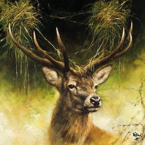 Χαρτοπετσέτα για decoupage, Proud Deer ,1 τεμ.