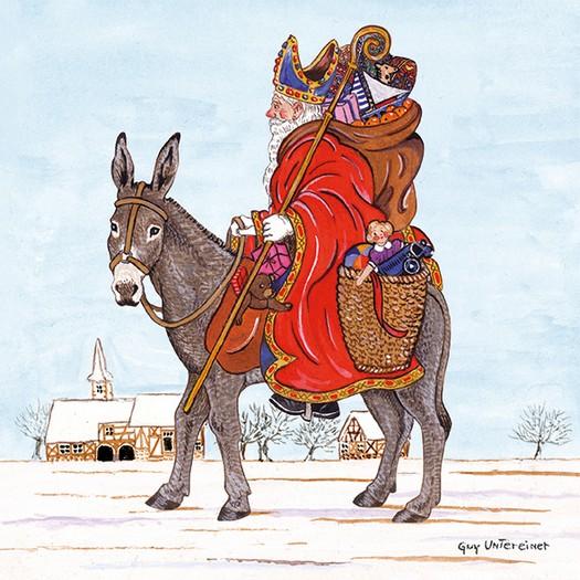 Χαρτοπετσέτα για Decoupage, Saint Nicholas, 1τεμ.
