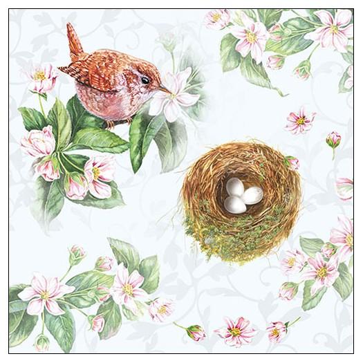 Χαρτοπετσέτα για decoupage, Watching Nest, 1 τεμ.