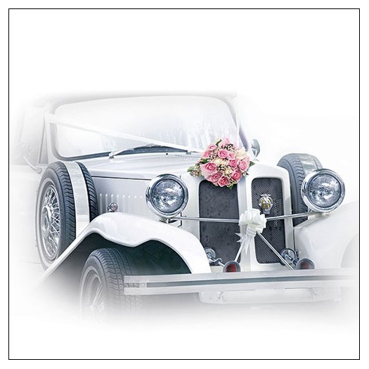Χαρτοπετσέτα για decoupage, Wedding Car, 1 τεμ.