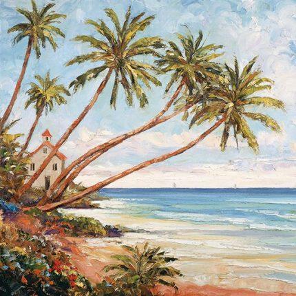 Χαρτοπετσέτα για Decoupage, Palm Beach 1 τεμ.