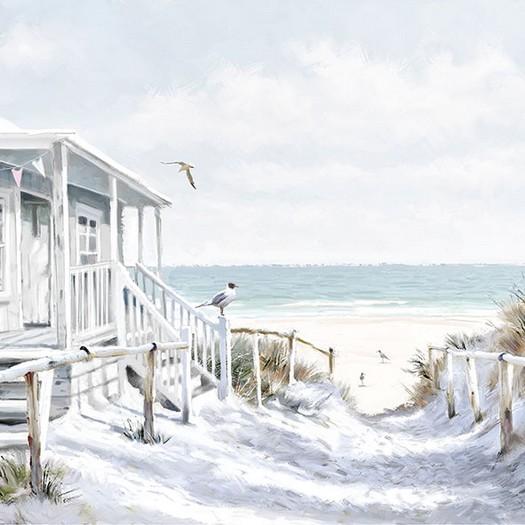 Χαρτοπετσέτα για Decoupage, Beach Cabin 1 τεμ.