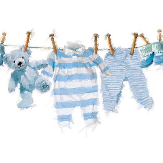 Χαρτοπετσέτα για Decoupage, Baby Boy Clothes 1 τεμ.