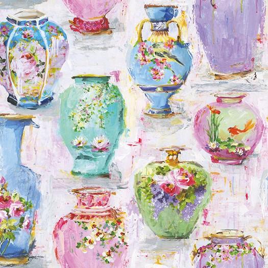 Χαρτοπετσέτα για Decoupage, Vases 1 τεμ.