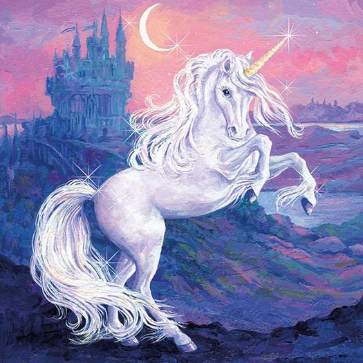 Χαρτοπετσέτα για Decoupage, Fantasy Unicorn 1 τεμ.