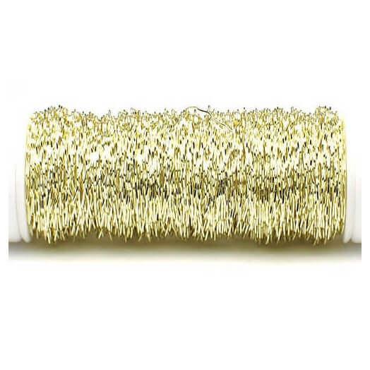 Zigzag wire, Champaigne, 30 mm/35 m