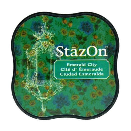 Μελάνι Ανεξίτηλο για σφραγίδες, Stazon Emerald City