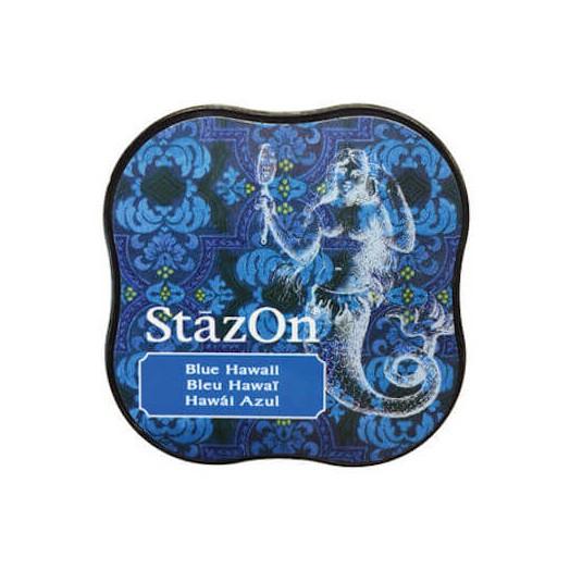 Μελάνι Ανεξίτηλο για σφραγίδες, Stazon Blue Hawaii