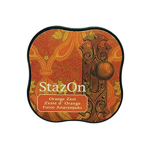 Μελάνι Ανεξίτηλο για σφραγίδες, Stazon Orange Zest