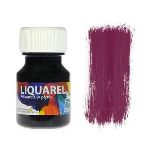 Χρωμα ακουαρέλας Liquarel 30 ml - Bordeaux