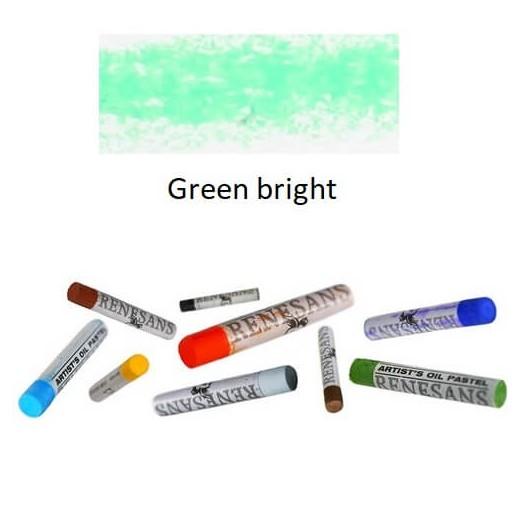 Λαδοπαστέλ Oil Pastel Fine Renesans - Green Bright