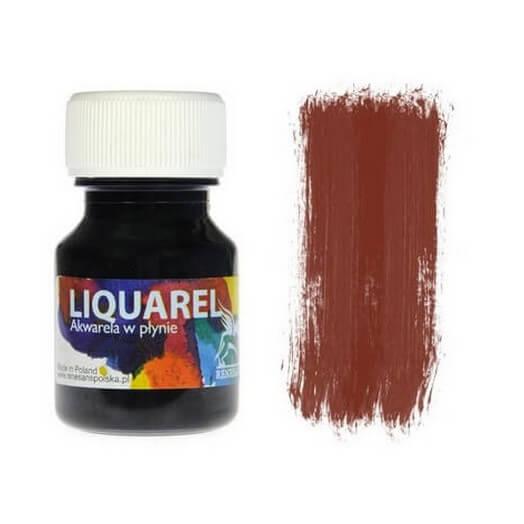 Χρωμα ακουαρέλας Liquarel 30 ml - Brown