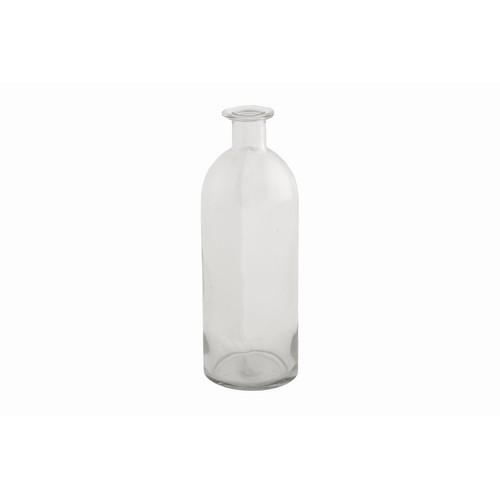 Γυάλινο μπουκάλι, 7x7x20cm